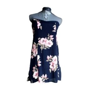 Reformation USA Made Strapless Mini Shift Dress 2P